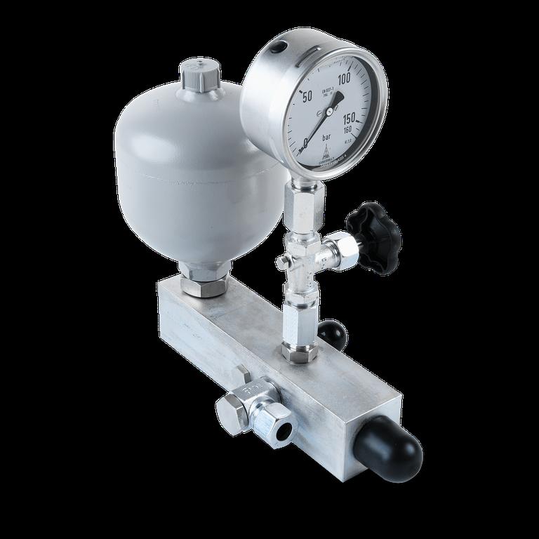 DHE Pressure accumulator